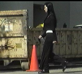 Cher At The Trash